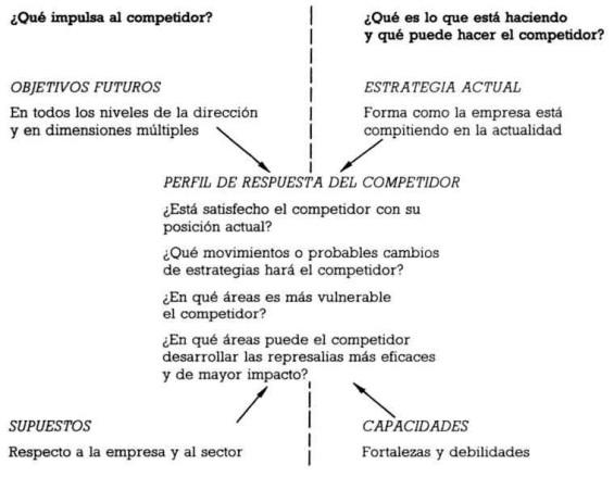 Matriz de Porter para el análisis de la competencia