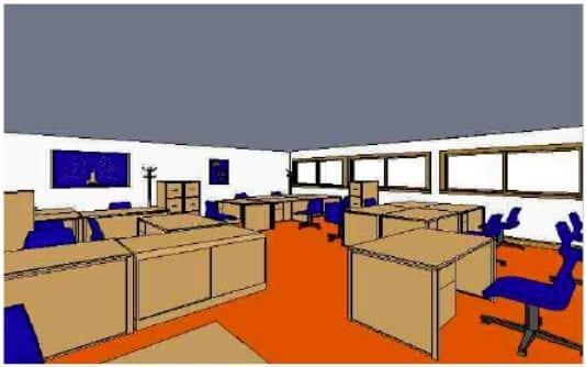 Oficinas Empresa Simulada TEXTIL SA.