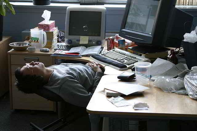 Preguntas acerca del comportamiento en el trabajo