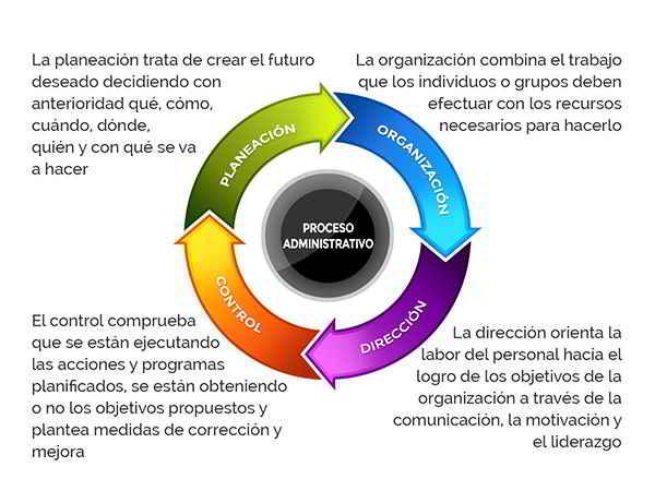 Qué es proceso administrativo
