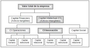 Clasificación del capital intelectual