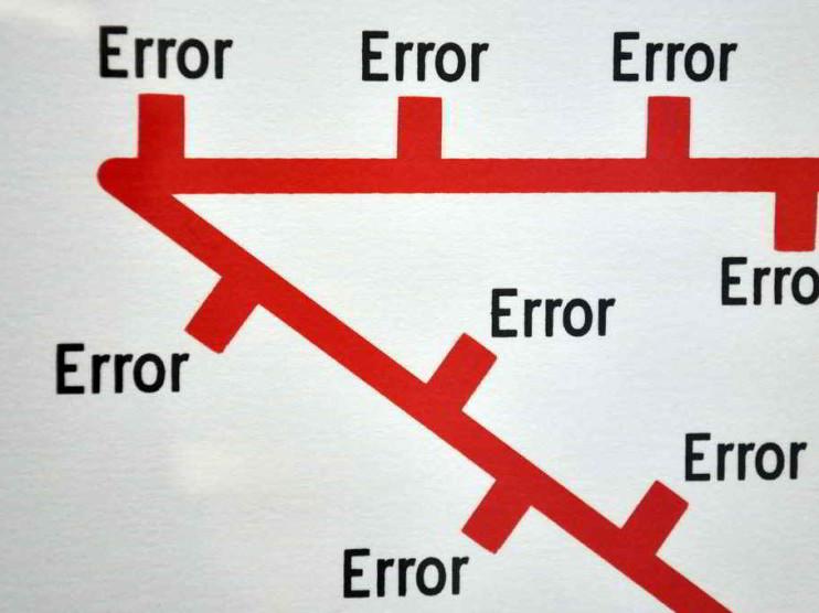 Manejo de los errores en la empresa