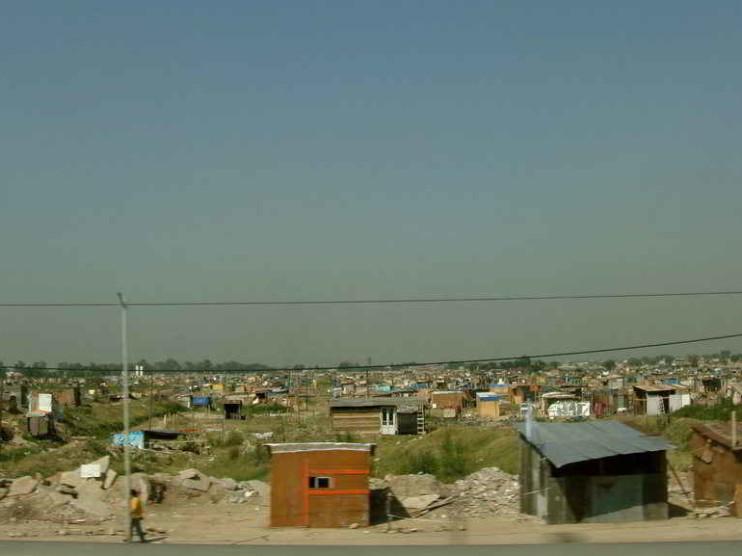 Distribución de la pobreza e indigencia en Argentina