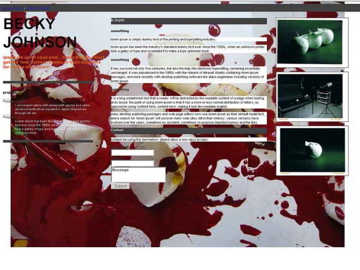 El objetivo de una página web
