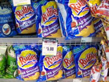 Análisis de producto. Papas fritas Ruffles
