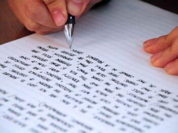 Redacción de párrafos