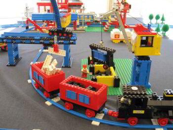 Simulación de línea de producción con mega blocks