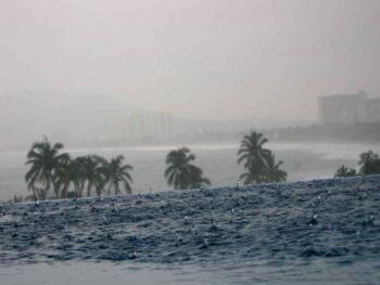 Tormentas tropicales, efecto invernadero y calentamiento global
