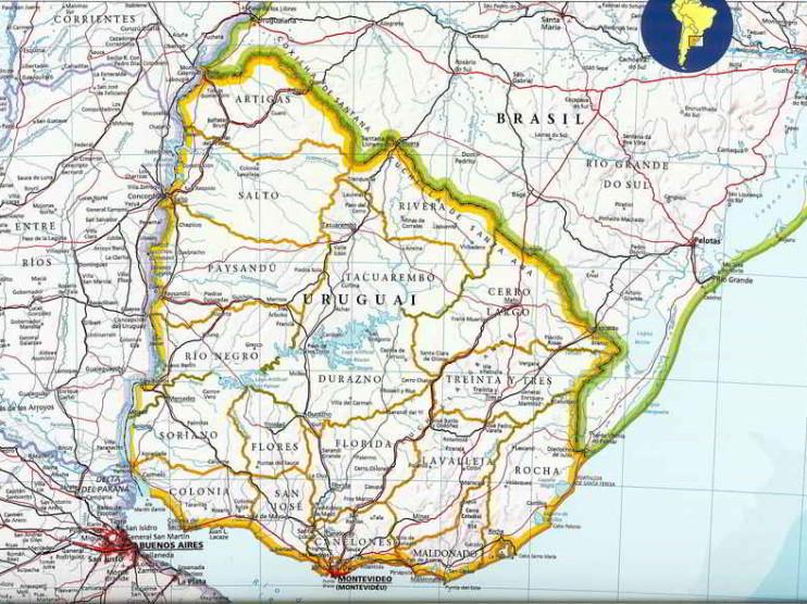 Uruguay y su destino geopolítico