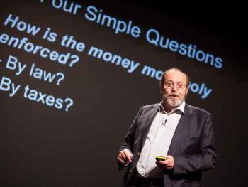Bernard Lietaer y el futuro del dinero