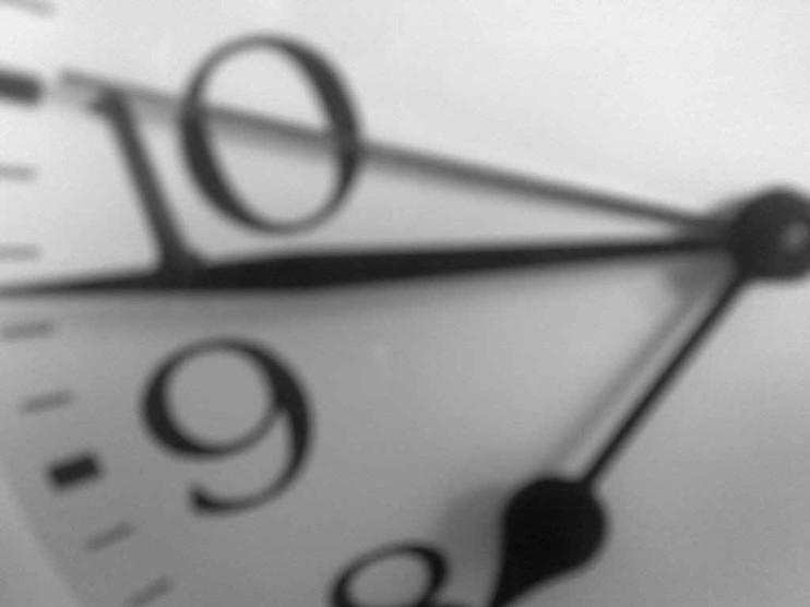 Administración del tiempo y el valor de 5 minutos
