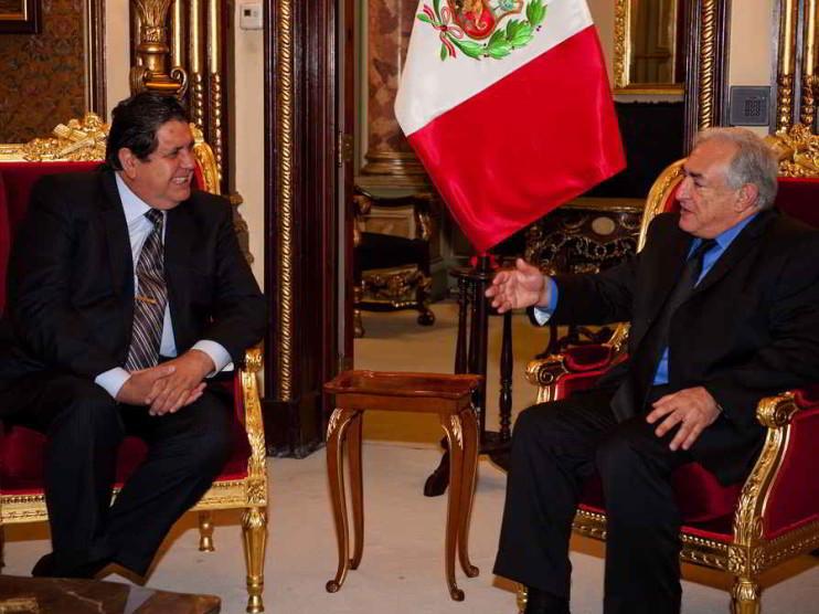 Deflación y recesión en Perú 2008
