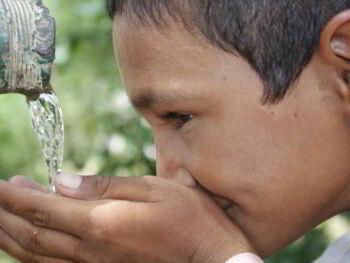 Agua potable en el mundo