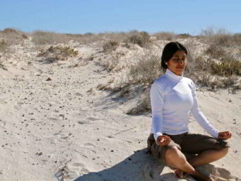 Medita y olvídate del estrés con el Yoga