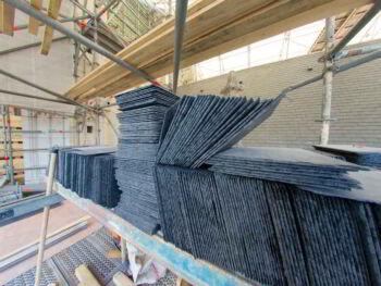 Logística del reaprovisionamiento de materias primas