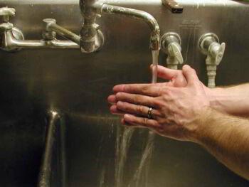 Lavado de manos. Clave del manipulador de alimentos