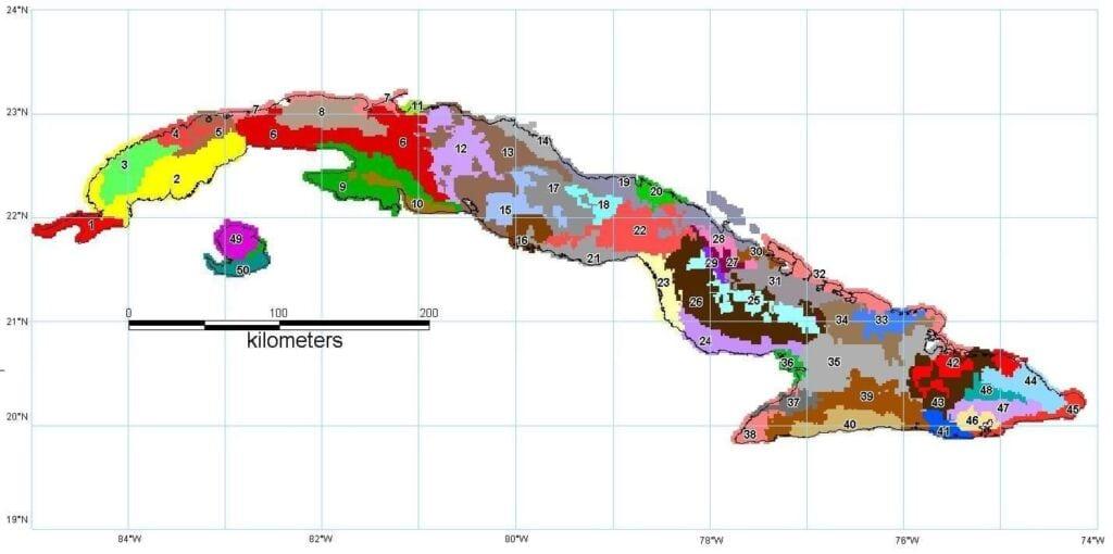Zonificación Agroclimática de Cuba
