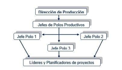 Jerarquía de responsabilidad en la ejecución del procedimiento