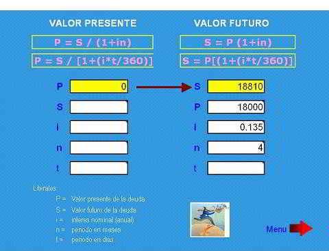 Cálculo de interés simple y compuesto con excel - GestioPolis
