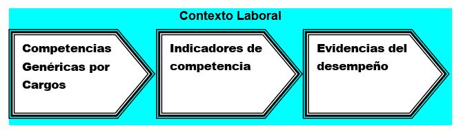 Esquema general del sistema de competencias laborales de los cargos.