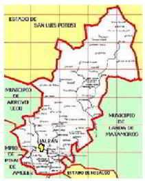 Ecoturismo y desarrollo. La región de Jalpan de Serra, Querétaro - Ubicación