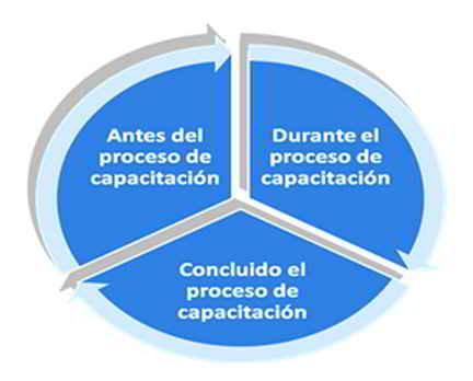 Etapas del proceso de evaluación del impacto de la capacitación
