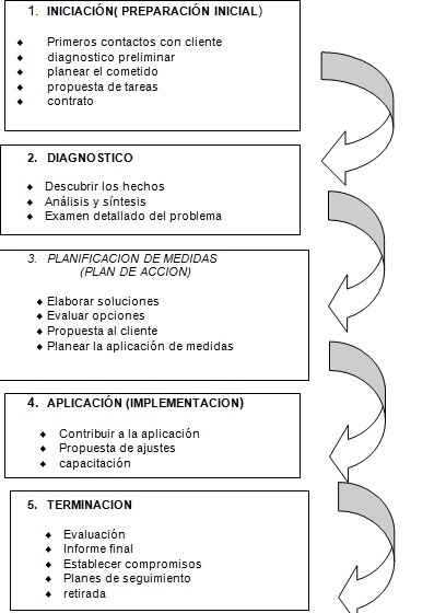 El proceso de consultoría organizacional • GestioPolis