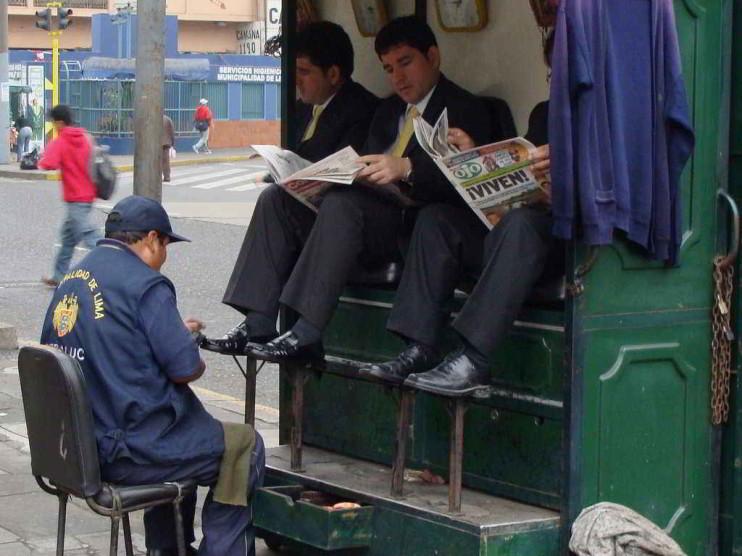 Redistribución de recursos en Perú y el contexto externo