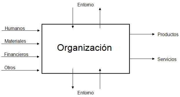 La organización como sistema social abierto