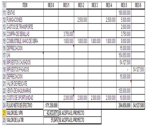 Evaluación financiera de proyectos - Flujo de caja con impuestos