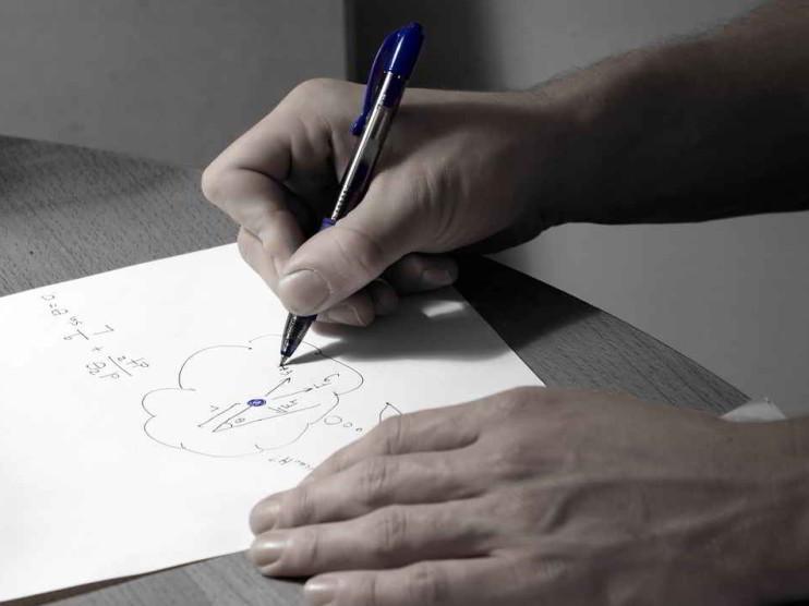 Ecuación básica contable y su representación gráfica