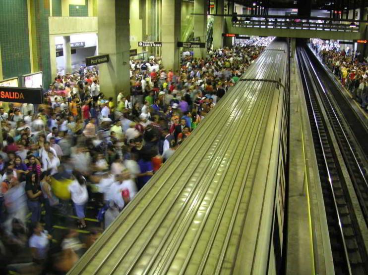 La problemática del transporte urbano en Venezuela