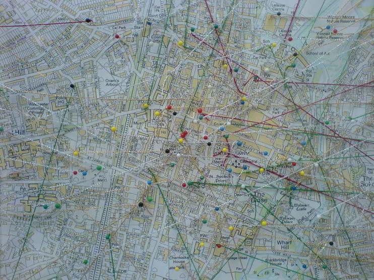 Mapeo de alcances de procesos