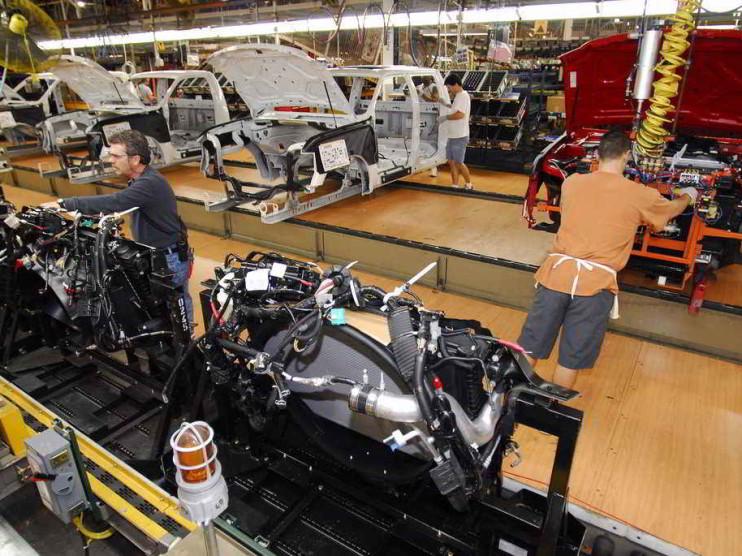 Distribución de las instalaciones y capacidad productiva en la empresa