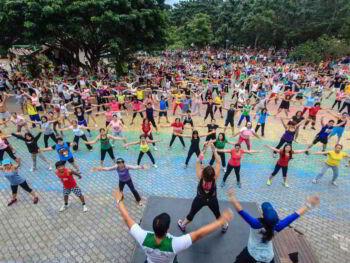Actividad física comunitaria como promotora de salud para la vida