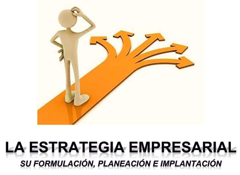 Estrategia empresarial, su formulación, planeación e implementación