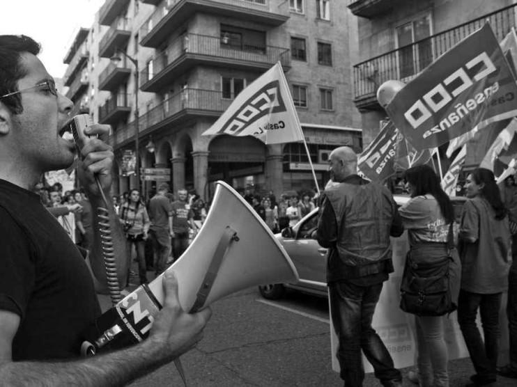 La decadencia del sindicalismo