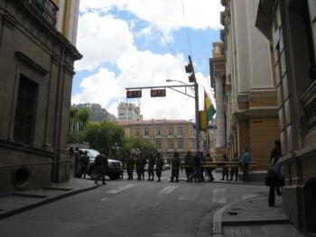 Formación y capacitación para profesores de policías en una Universidad de Bolivia