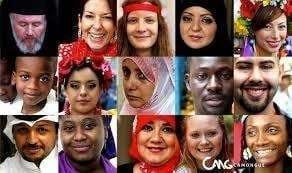 Ejemplos de persona de distintas culturas