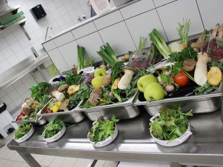 Optimización de recursos en el servicio de alimentos