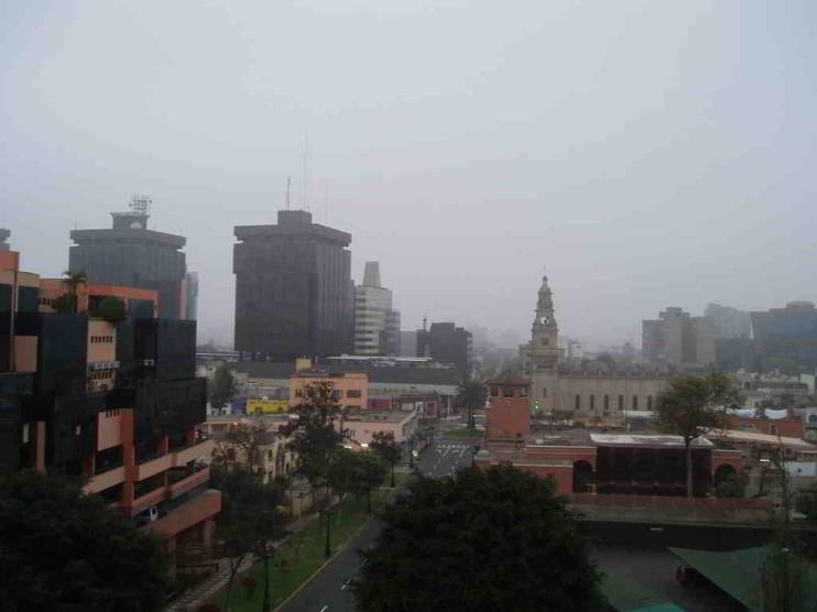 Contaminación del aire en Lima Metropolitana Perú