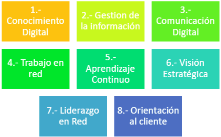 COMPETENCIAS DIGITALES PARA TRANSFORMAR LOS NEGOCIOS (Magro & Salvatella, 2014):