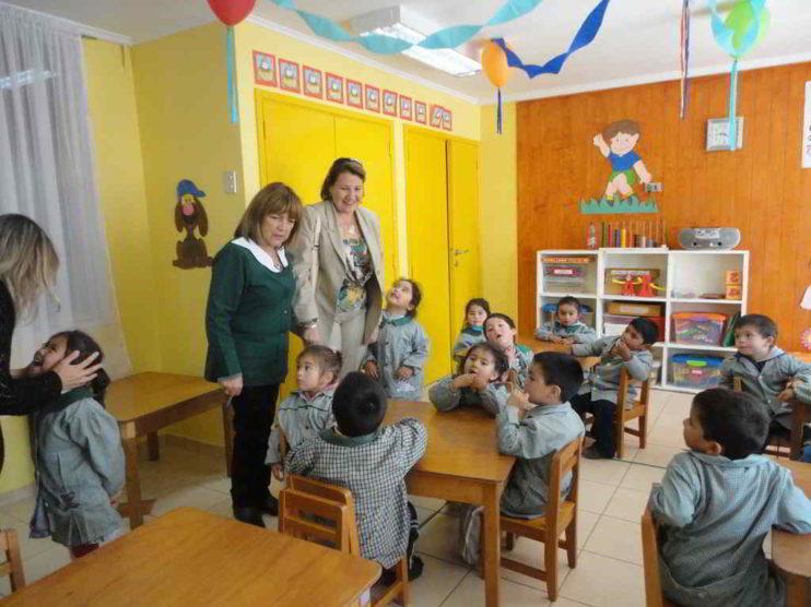 Esquema de gestión del programa Chile Crece Contigo
