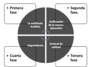 Fases de procedimiento para poder auditar