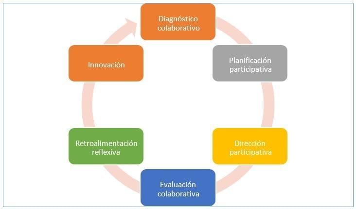 Ciclo de gestión del programa colaborativo laboral