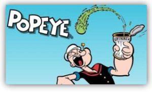 Popeye caricatura