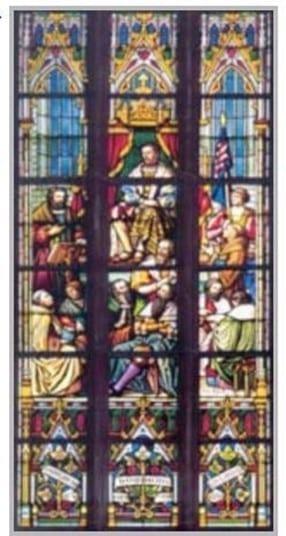 Medievales vidrieras son un  ejemplo de cómo se utiliza la Nanotecnología en la era pre-moderna.
