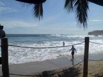 Estudio de seguridad turística en una Playa de Ecuador