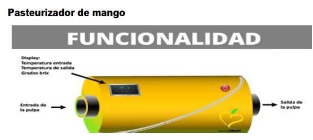 Pasteurizador de Pulpa de Mango