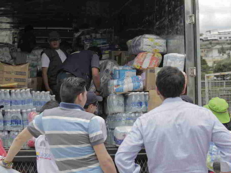 La gastronomía en las zonas afectadas por el terremoto del 16 abril de 2016 en el Cantón San Vicente Ecuador